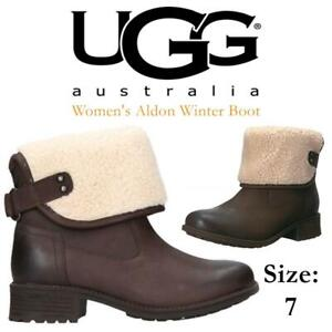 NEW UGG Womens Aldon Winter Boot Condtion: New, Stout, 7