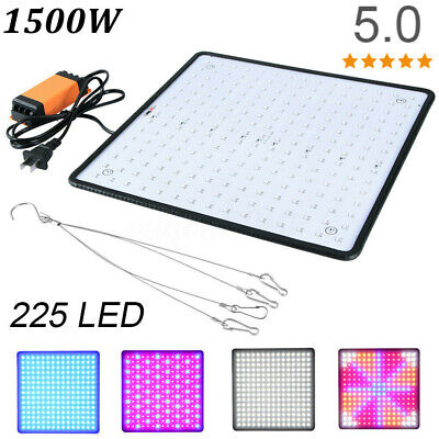 New 1500W 225 LED Grow Light UV Growing Lamp for Indoor Plants Hydroponic Plant Lamp Unbranded/Generic vgb4917347 for 17.55.