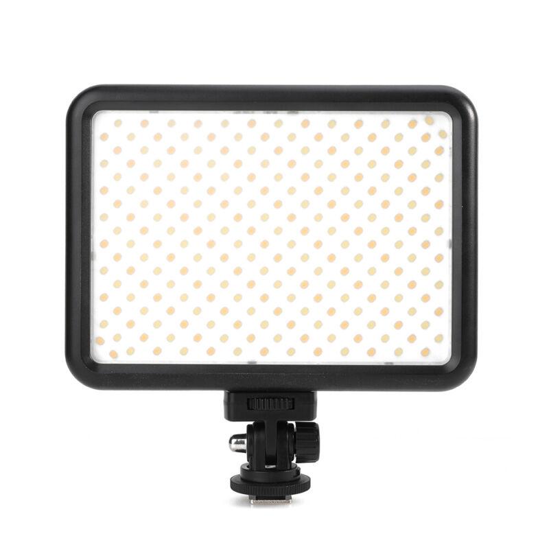 236 LED Video Light 3200k-5600K Ultra Bright CRI95 with Display For DSLR Cameras