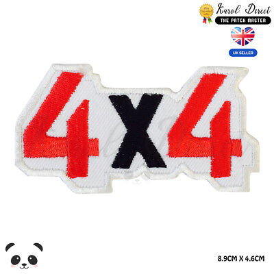 4X4 Car Trucks Power Logo Embroidered Iron On Sew On PatchBadge For Clothes etc