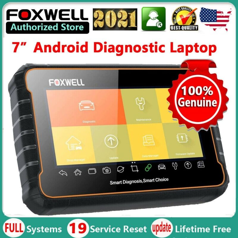 OBD2 AUTOMOTIVE SCANNER ALL SYSTEMS ALL FUNCTIONS DIAGNOSTIC TOOL FOXWELL GT60