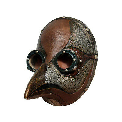 Steampunk Plague Doctor Faux Leather Ghoulish Adult Halloween Costume Mask - Ghoulish Costumes Halloween