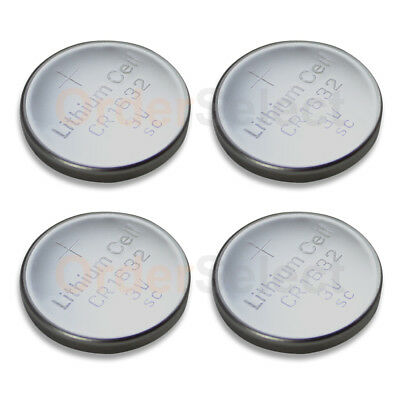 4 PACK NEW Battery Coin Cell Button Watch Calculator 3V CR1632 CR 1632 US Seller