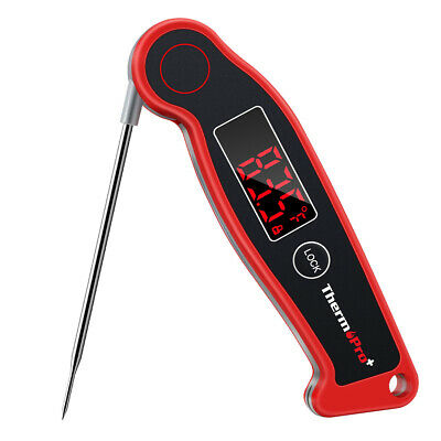 ThermoPro TP19 Meat Thermometer Waterproof Digital Instant Read Food Thermometer Waterproof Thermocouple Thermometer