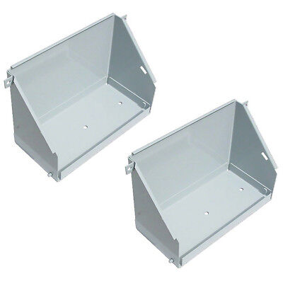 108016a Battery Box Pair For White Oliver Tractors 1550 1600 1650 1800 2-70