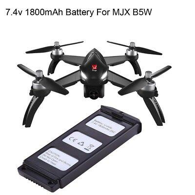 1Pc 7.4V 1800mAh 25C UAV Li-ion Battery Spare Parts for MJX Bugs 5W RC FPV Drone