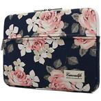 Canvaslife MacBook Air/Pro Sleeve 13 inch - Navy Rose