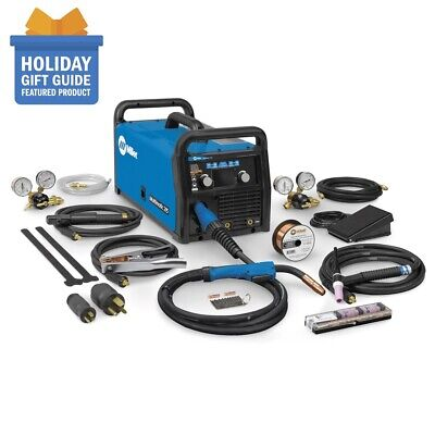 Miller Multimatic 215 Auto-set Multiprocess Welder With Tig Package 951674