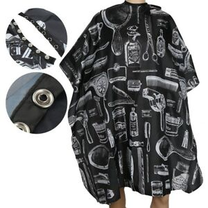 Waterproof Hair Cutting Cape Salon Haircut Hairdressing Gown Apron Barber Cloth