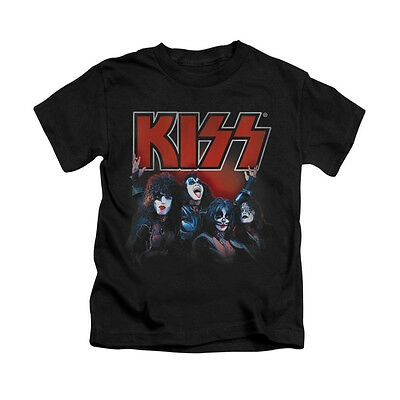 KISS KINGS Licensed Toddler & Boy Graphic Band Tee Shirt 2T 3T 4T 4 5-6 7