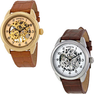 Invicta-Specialty-Mechanical-Skeleton-Dial-Leather-Band-Mens-Watch