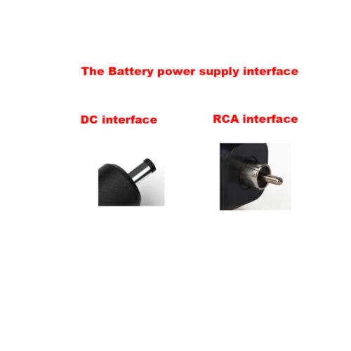 как выглядит RCA/DC Wireless Tattoo Power Supply Battery Pack For Tattoo Machine Rechargable фото