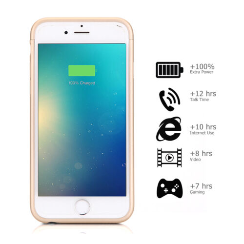 3000mAh Battery Charger Case Rechargeable Slim Extended Powe