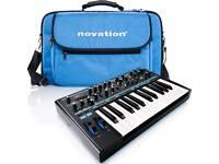 Novation Bass Station II + Gigbag as new