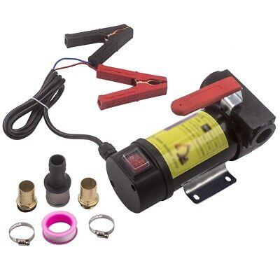 Disel Fuel Transfer Pump 12 V Portable Electric For Kerosene Oil Commercial Auto