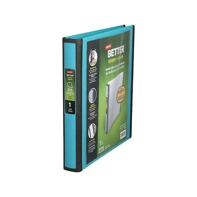 Staples Better 1-inch D 3-ring View Binder Teal 13466-cc 651740