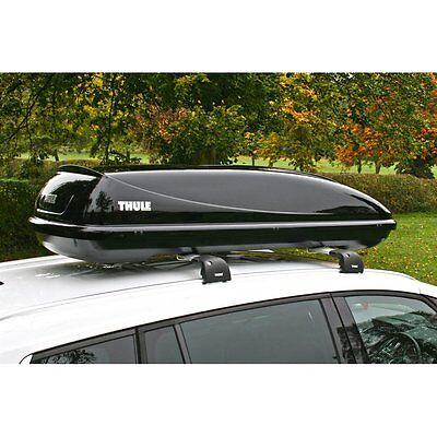 Thule Ocean 200 Car Roof Box Gloss Black Finish - 450 Litre Capacity