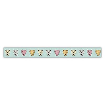 Washi Tape Effekt-Klebeband Katzen Cats  15mm breit 15m lang Rayher 60-698-000 ()