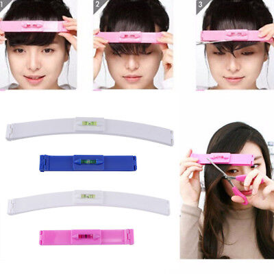 1Set DIY Practical Bangs Hair Cutting Clip Hair Styling Fringe Trim Tools Ruler for sale  Shipping to Canada