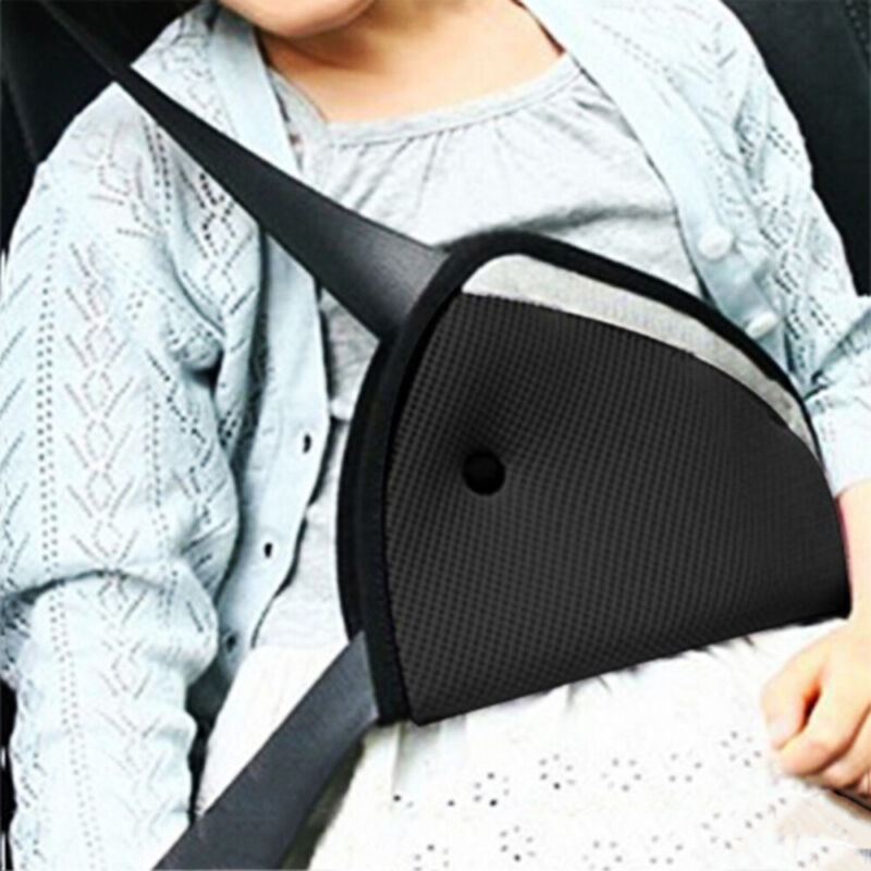 Cover  Holder Shoulder Harness Strap Car Child Safety Cover Seat Belts Triangle