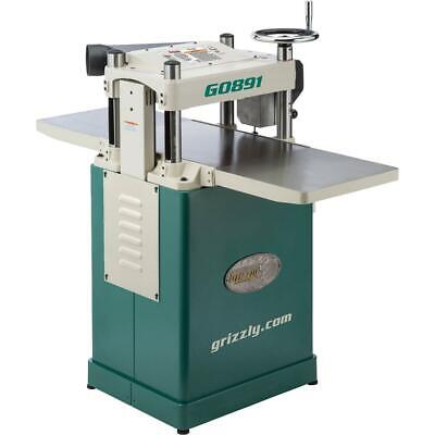 Grizzly G0891 15 3 Hp Fixed-table Planer Whelical Cutterhead