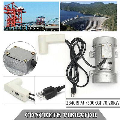 Heavy Duty 2840 Rpm Electric Concrete Vibrator Table Vibrating Motor Tool 110v