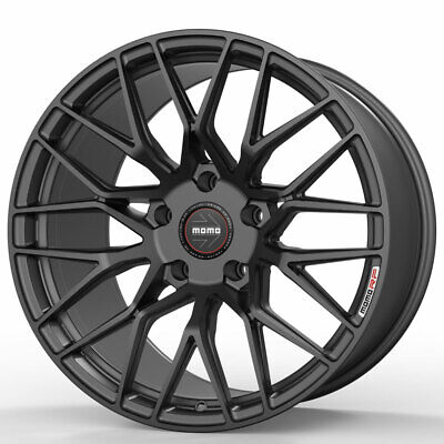 """19"""" MOMO RF-20 Gray 19x9 Concave Forged Wheels Rims Fits Acura TSX"""