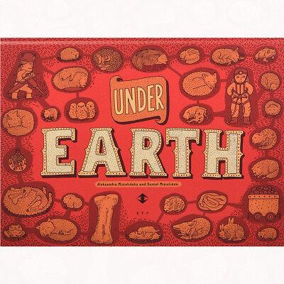 Under Earth,Under Water By Aleksandra Mizielinski & Daniel Mizielinski Hardcover