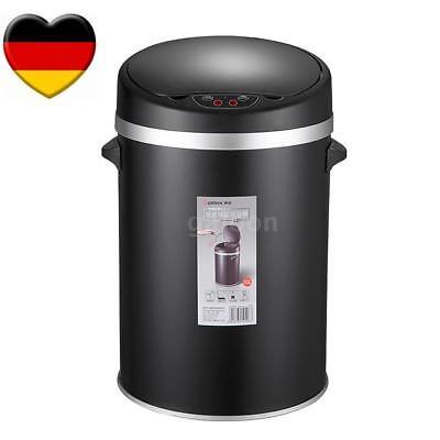 Automatik Sensor Einbau Stand-Abfallsammler Mülleimer 10 Liter Papierkorb Y4I9 ()
