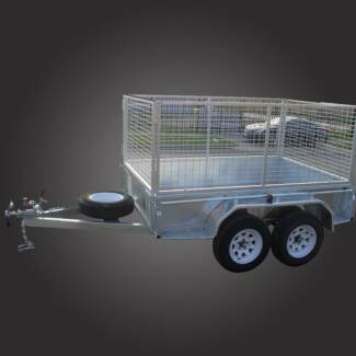 8x5 Tandem Cage Trailer Campbellfield Hume Area Preview