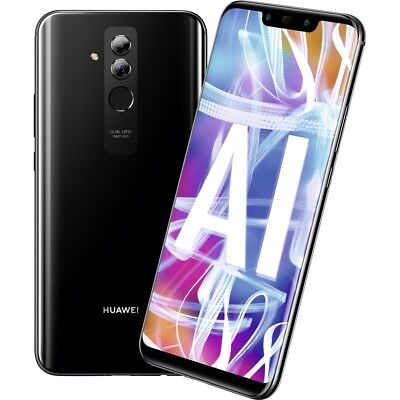 Huawei Mate 20 Lite 64GB black Android Smartphone Handy ohne Vertrag LTE/4G