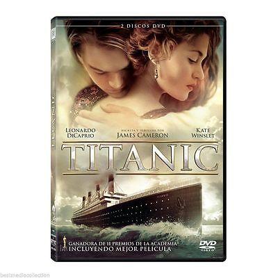New   2 Discs  Titanic Dvd New Leonardo Dicaprio Alternative Ending Shipping