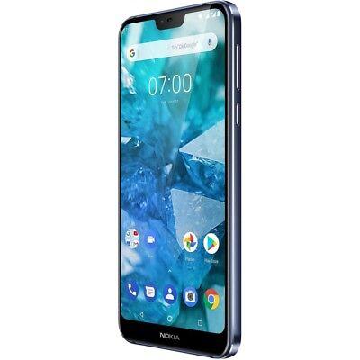 Nokia 7.1 32GB blue Android Smartphone Handy LTE/4G 3GB RAM ohne Vertrag Handy Nokia Lte