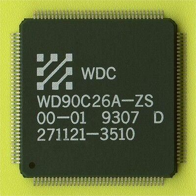 6× WD90C26A VGA/LCD FLAT PANEL VIDEO CONTROLLER+DRAM+OSCILLATOR QFP-144 SMD SMT† Flat-panel-video