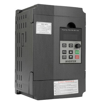 2.2kw 2hp 220v 12a Variable Frequency Drive Inverter Vfd Single To 3 Phase X9h8