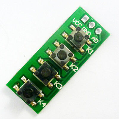 Ad Key Key Board Button Analog Switch Board Module Arduino Raspberry Pi Arm Kit