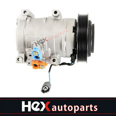 A/C Compressor & Clutch Fits Acura TL V6 2004-2008 Honda Accord V6 2003-2007