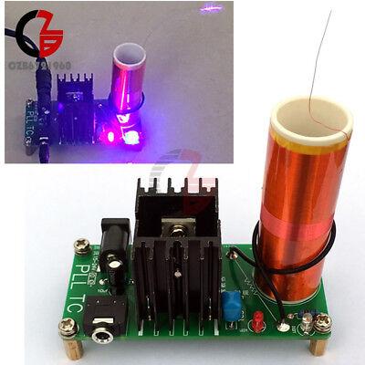 15w 15v-24v Dc 12v Mini Tesla Coil Plasma Speaker Electronic Music Finished Diy
