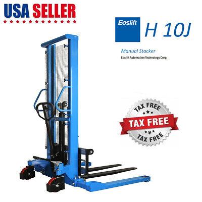 Hand Pallet Lift - Manual Forklift Pallet Stackers Hand Pump Lift Trucks 2200lb 63