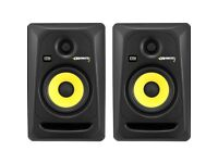 Selling my KRK Rokit RP5 G3 pair of monitor speakers. Mint condition with all original packaging.