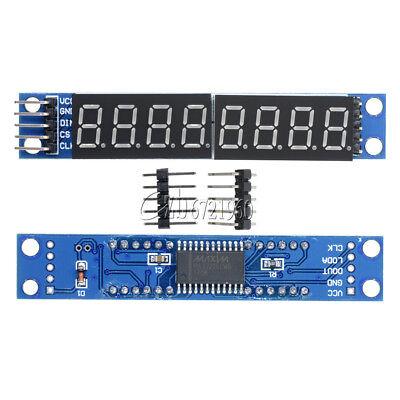 (Blue MAX7219 LED Dot Matrix 8 Digit Digital Tube Display Control For Arduino)