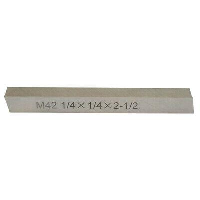 M42 Cobalt Steel Square Lathe Tool Bits Milling Machine 14x 14x 2-12