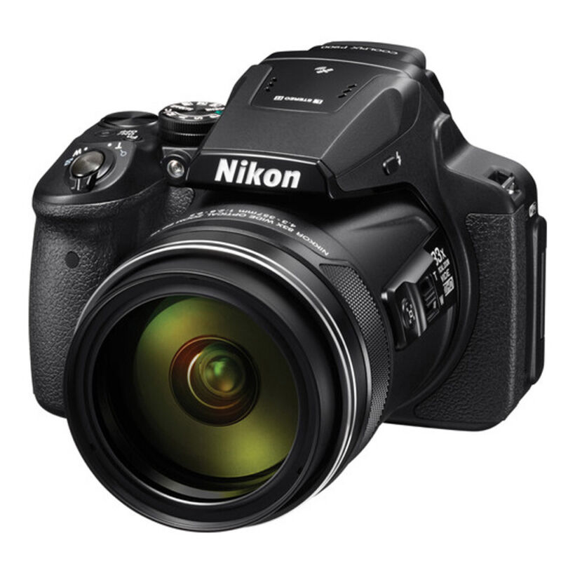 Nikon Coolpix P900 S 16MP 83x Optical Zoom Digital Camera Black