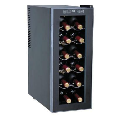 Sunpentown WC-1271 Thermo-Electric Slim Wine Cooler with 12-Bottles Capacity New Thermoelectric Slim Wine Cooler