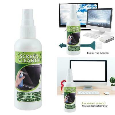Laptop Lcd Screen Cleaner (100ml LCD Screen Cleaner Cleaning Kit Plasma PC Laptop Tablet Monitor Display )
