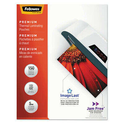 Fellowes Laminating Pouches With Uv Protection 5mil 11 12x9 150pk 5204007 New