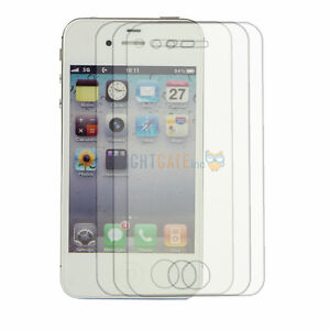 3pcs iPhone 4 / 4S Anti-Glare, Anti-Scratch, Anti-Fingerprint Screen Protector