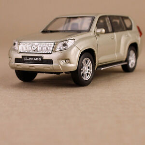 2013 Toyota Landcruiser Prado Die-Cast Model Car Collectible Detailed Welly