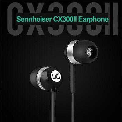 Sennheiser Computers Ear Buds (Sennheiser CX300II In-Ear Headphones 3.5mm Wired Headset Earbud Earphone)