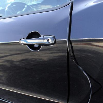 OxGord Car Door Trim Edge 8.5 Feet Body Strip BLACK Mold Scratch Guard Protector